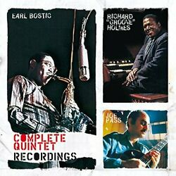 Bostic Earl And Richard `groo...-complete Quintet Recordings Cd New