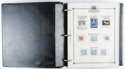 Canada Stamp Collection Binder With Mint And Proof