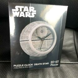 Star Wars Puzzle Clock Jigsaw Puzzle 145 Piece Death Star From Japan New Unused
