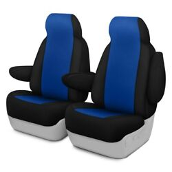 For Ford Courier 72-82 Genuine Neoprene 1st Row Blue W Black Custom Seat Covers
