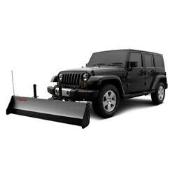 For Jeep Wrangler 1987-1995 Snowsport 80674/40163 Hd Utility Plow 96 Blade