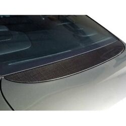 For Bentley Continental 05-11 Spoiler Factory Style Carbon Fiber Flat Rear