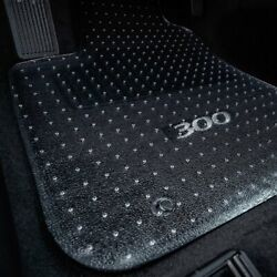 For Mercedes-benz E500 10-16 Floor Mats 1st, 2nd Row And Cargo Mat Folded Up Seats