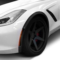 For Chevy Corvette 14-19 Zr-c Style Carbon Fiber Front And Rear Fender Flares