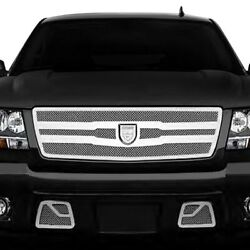 For Chevy Tahoe 07-13 Lexani Zurich Style Chrome Mesh Grille Kit W Chrome Frame