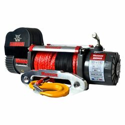 Detail K2 8000 Lbs Warrior Samurai Series Electric Winch W Synthetic Rope