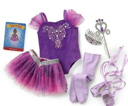 American Girl Sugar Plum Fairy Outfit Doll Sold Separate Expedited Ship
