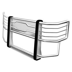 For Ford F-250 Super Duty 17-20 Luverne Prowler Max Polished Grille Guard