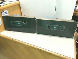 Closely Matched Pair Of Vintage Altec 1568a Amplifiers