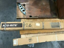 Acu-rite 28 5um Linear Scale New Old Stock Part 558115-28 Complete W/ Hardware
