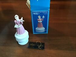 Vintage 1989 - House Of Lloyd's Victorian Lady Musical Rotating Music Box