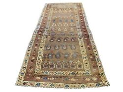 3'9x10'7 Antique Farsian North West Boteh Design Hand-knotted Rug R46430