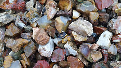 26+ Pounds Of Tumbling Rough Includes Mixed Agate's, Jasper's