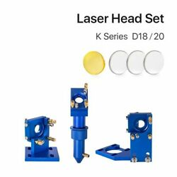 Co2 Laser Head Set With Lens Mirror For 2030 4060 K40 Engraving Cutting Machine