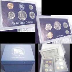 25 Years Mint Coin Sets 1973-1997 With Cases With Display Box