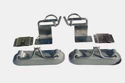 Snap Davits For Inflatable Boats Dinghies Raised With Quick Release