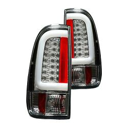 For Ford F-150 1997-2003 Recon 264292cl Chrome Fiber Optic Led Tail Lights