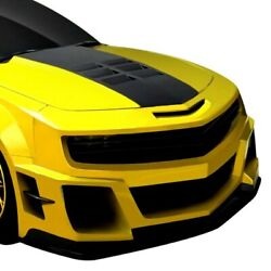 For Chevy Camaro 10-13 Ccg Style Fiberglass Wide Body Front Bumper Unpainted