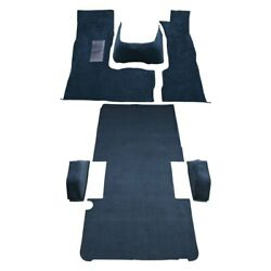 For Dodge B200 78-80 Carpet Essex Replacement Molded Midnight Blue Complete