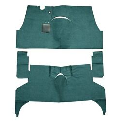 For Oldsmobile 98 55-56 Flooring Standard Replacement Cut And Sewn Aqua Complete