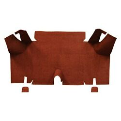 For Ford Mustang 65-66 Trunk Mat Essex Replacement Die Cut Brown Cargo Area