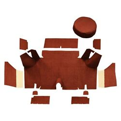For Ford Mustang 65-66 Trunk Mat Essex Replacement Die Cut Prairie Tan Cargo