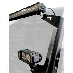 For Jeep Wrangler 07-14 Light Bar Kit A-pillar And Windshield Frame Mounted