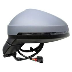 For Audi S4 17-18 Pacific Best Driver Side Power View Mirror Heated, Foldaway