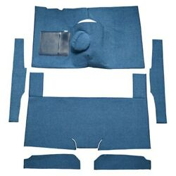 For Mercury Comet 60-65 Carpet Essex Replacement Cut And Sewn Silver Complete