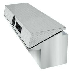 For Ram 3500 11-18 Highway Products Low-side Tool Box W Bright Diamond Plate Lid