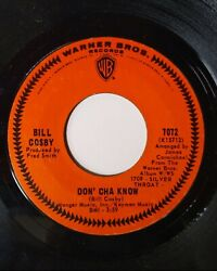Bill Cosby Little Ole Man / Don' Cha Know 45 Rpm Northern Soul, Vinyl Single