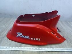 1991 Yamaha Sh50 Riva Razz Y742-1 Red Center Middle Fairing Cowl Cover Body