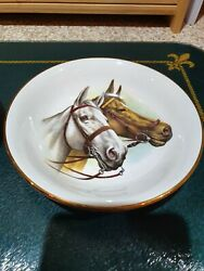 Vintage Wood And Sons Horseand039s Heads Dishes