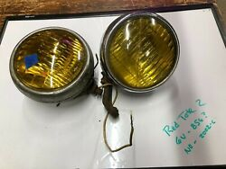 2 Blc Fog Lights 2002c And 856 Vintage Auto Lamp Old Truck Tractor Driving Car Bus