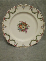 Den Haag Hague Porcelain Fruit And Floral Plate1700and039s