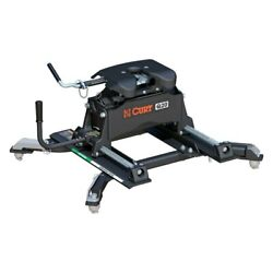 Curt 16687 Q20 Series 5th Wheel Hitch Head W Roller And Adapter