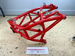 2015 Mv Agusta F3 800 Oem Red Frame Chassis Salvage Title