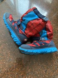 Stride Rite M2P Marvel Spiderman Boys#x27; Sneakerboot Boots Red US Size 13.5 M