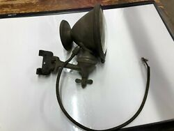Vintage Phares Besnard Auto Early Car Truck Driving Safety Spot Lamp Light Rare