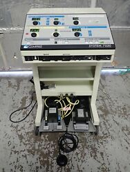 Conmed System 7550 Electrosurgical Generator Esu Abc Modes With 3 Foot Pedals