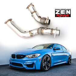 Bmw F80 M3 F82 F83 M4 2014-now 3.0t Downpipes Zen-rage Exhaust