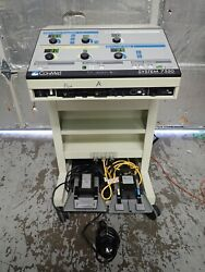 Conmed System 7550 Electrosurgical Generator Esu Abc Modes W/ 3 Foot Pedals