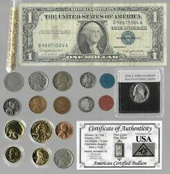 Silver Dollar Barber Mercury Liberty Indian Rare Us Coin Collection Lot Gold 213