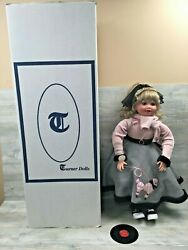 Turner Dolls By Virginia Ehrlich Turner 25 Rock And Roll Poodle Skirt Doll 1950and039s