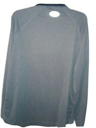 Under Armour Run Long Sleeve Fitted Athletic T Shirt Xl Gray
