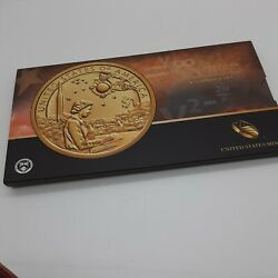 2019 Native American 1. Coin And Currency Set Space Enhanced Uncirculated Paper