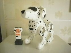 Tekno The Robot Puppy Rare Dalmatian Robot Dog - Complete With 5-function Bone W