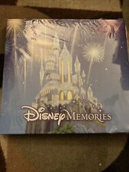 Handmade Disney Collectors Scrapbook With Lithographs, Postcards, Trading Cards,