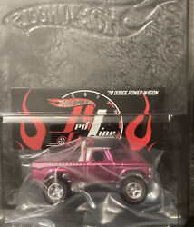 Hot Wheels Redline Club Pink Party Andlsquo70 Dodge Power Wagon Convention Member Car