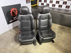 Cadillac Ats 2013-2018 Awd Oem Front Leather Power Left Right Seat Seats 95k